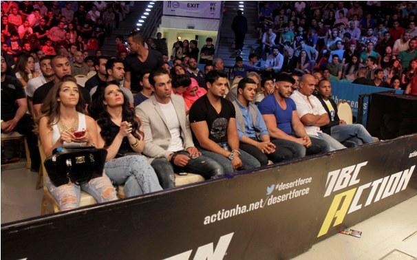 MBC Action- Desert Force Finale- Celebrities Diana Karazon & Mehyar Khador & Riyad Al Azawe & Yousef Arafat & Ahmad Tohami &Captain Nour Khatab