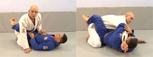 how to put someone in an armlock