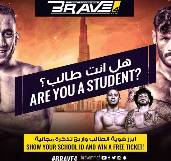 Brave 4 win free ticket