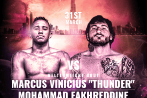 Fakhreddine vs. Marcus Vinicious