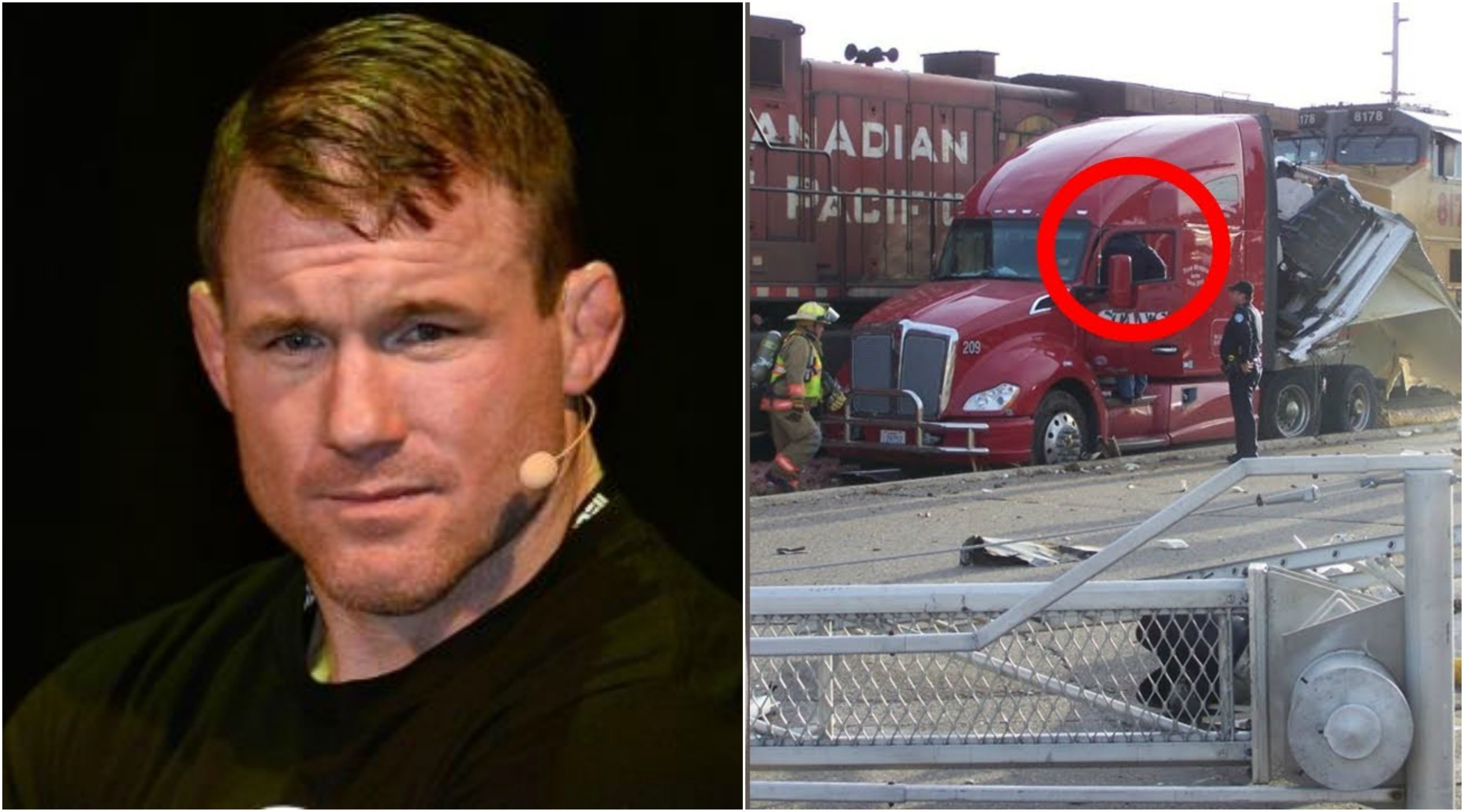 Former 2 Time Ufc Champion Matt Hughes Hit By Moving Train