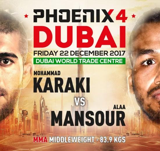 Mohammad Karaki vs. Alaa Mansour