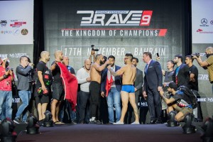 Brave 9 weigh ins results