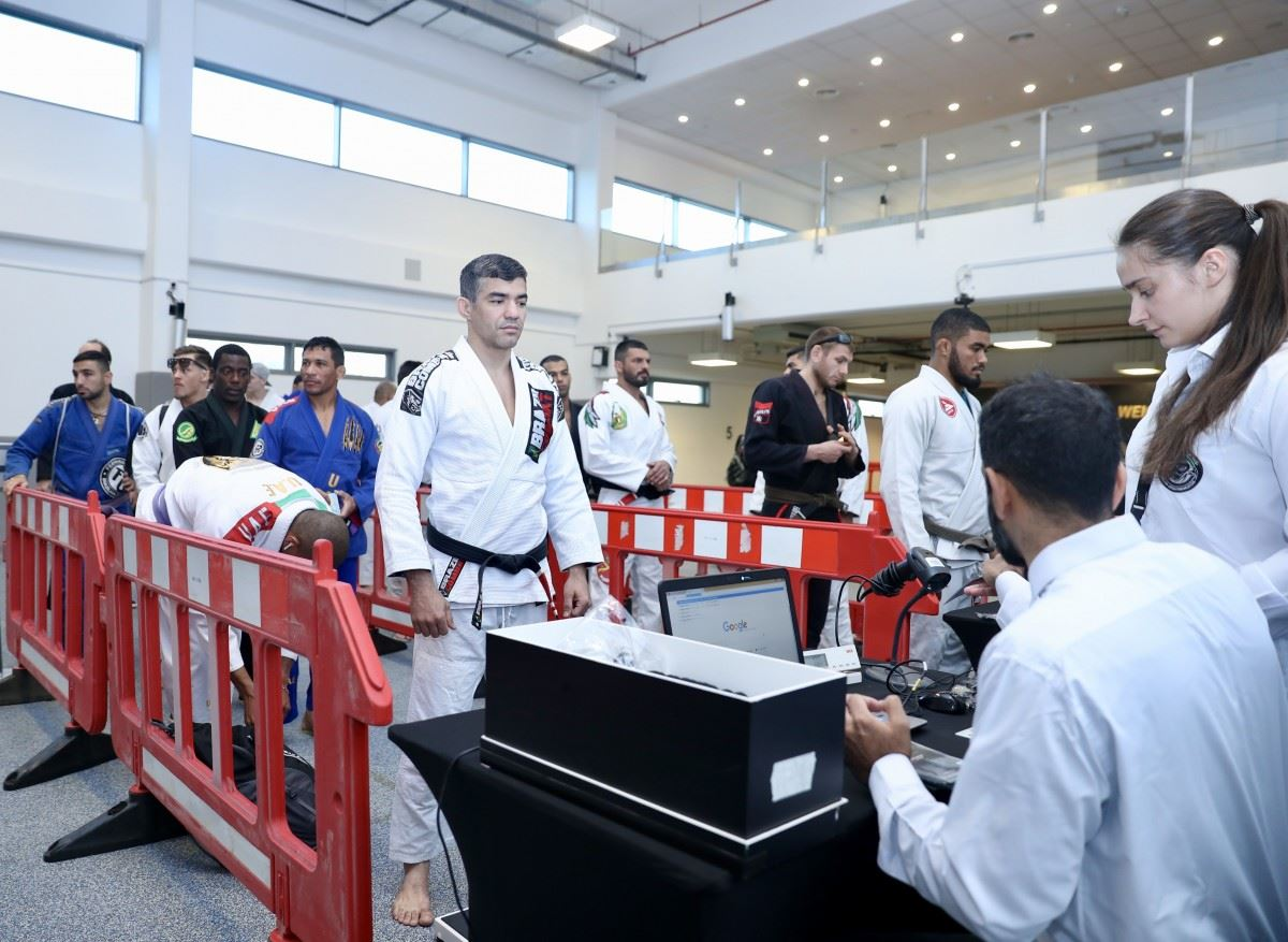 ABU DHABI GRAND SLAM® JIU-JITSU WORLD TOUR WEIGH-INS CONDUCTED AT MUBADALA ARENA